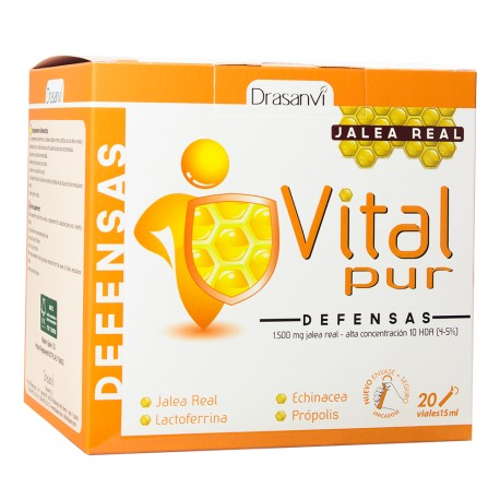 VITALPUR DEFENSAS JALEA REAL 20VIALES