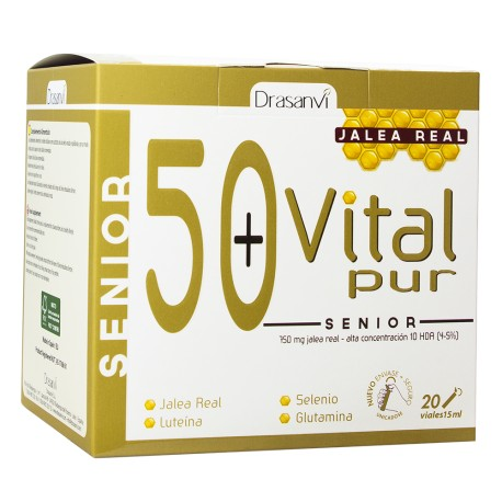 VITALPUR SENIOR 20 X15 ml. DRASANVI