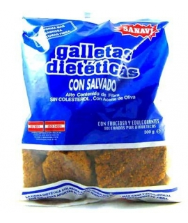 GALLETA SALVADO S/A 300 gr SANAVI